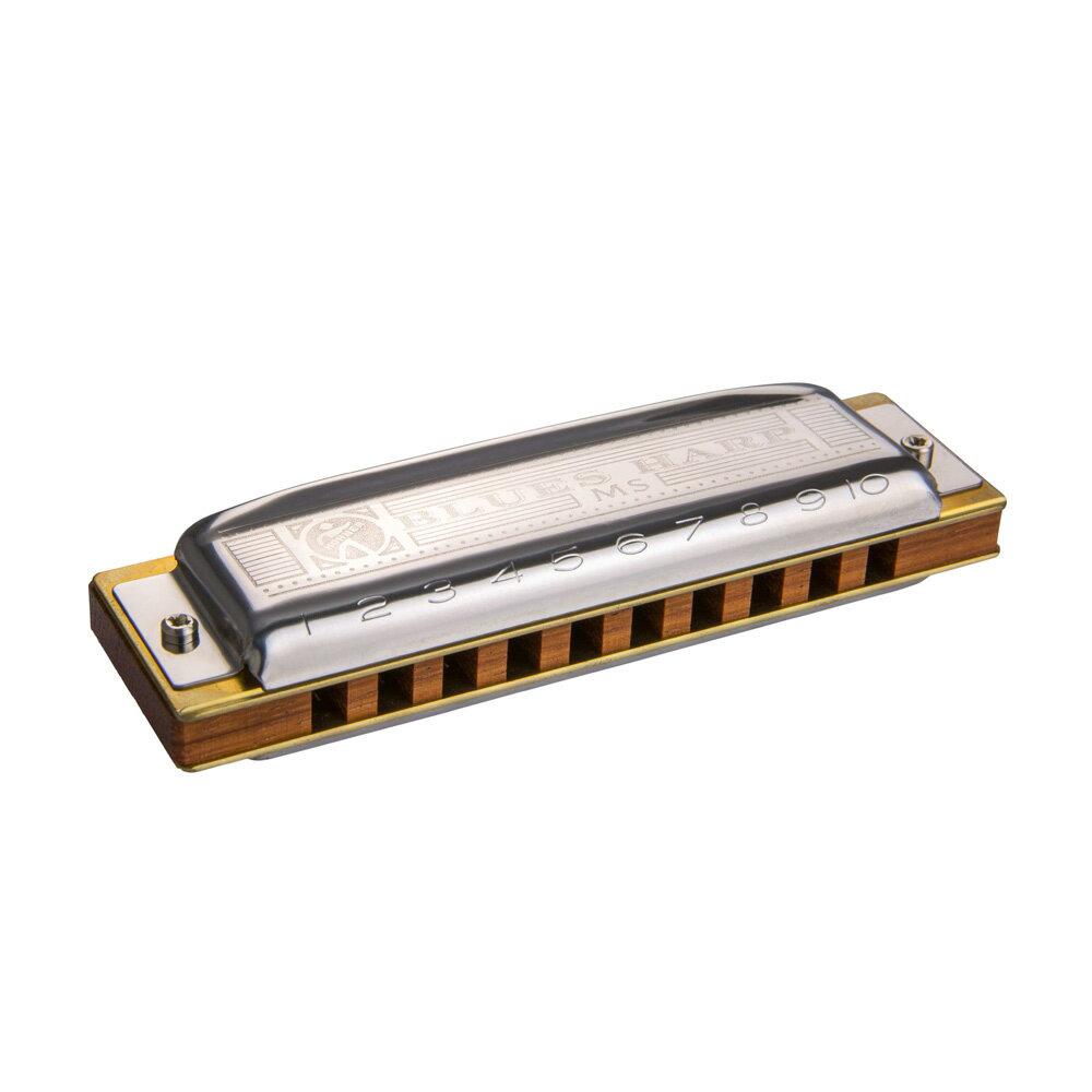 ハーモニカ, 単音10穴ハーモニカ HOHNER Blues Harp MS X 53220MSX G