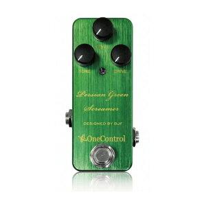 ワンコントロール 100年後のスタンダードを目指したペダルOne Control Persian Green Screamer ...