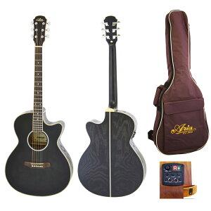 ARIA FET-01FX SBK エレクトリックアコースティックギター
