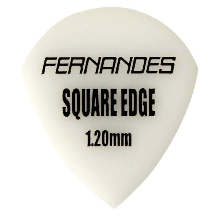 FERNANDES P-100SQJ 1.2mm SW SQUARE EDGE ×10枚 ギターピック