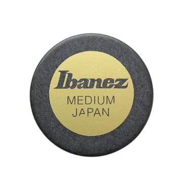 IBANEZ PA1M-BK 真円形ギターピック×10枚