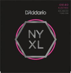 D'Addario NYXL0940BT エレキギター弦×3SET