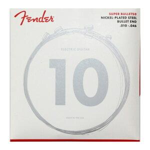 Fender Super Bullets Nickel-Plated Steel 3250R 10-46 エレキギター弦×6セット