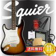 エレキギター入門11点セット Squier Affinity Series Stratocaster Left-Hand BSB