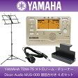 YAMAHA TDM-75 メトロノーム機能付きチューナー Dicon Audio MUS-009 譜面台付き 4点セット