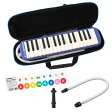 SUZUKI FA-32B 鍵盤ハーモニカ&スペア用吹き口セット 【どれみシールプレゼント】