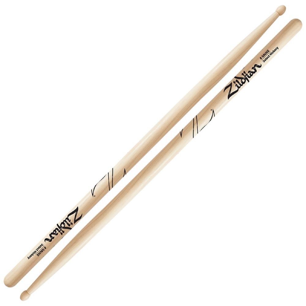 ドラム, スティック ZILDJIAN LAZLZGS8 Gauge 8 Gauge 6