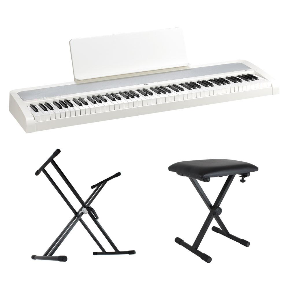 ピアノ・キーボード, 電子ピアノ KORG B2 WH Dicon Audio X 3