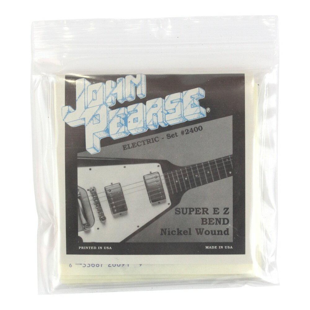 ギター用アクセサリー・パーツ, エレキギター弦 John Pearse 2400 09-423