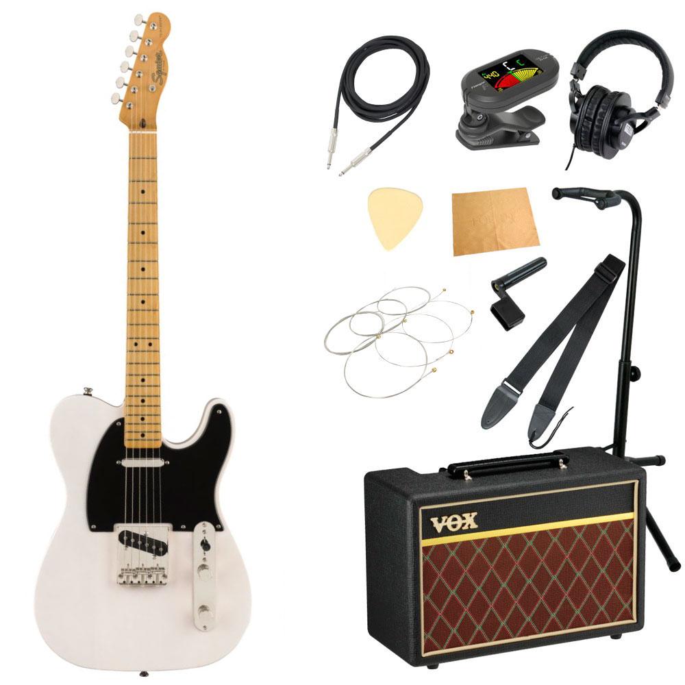 セット, エレキギターセット Squier Classic Vibe 50s Telecaster MN WBL VOX 11