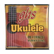 GHS 10/Standard Ukulele Clear Nylon ウクレレ弦×3セット