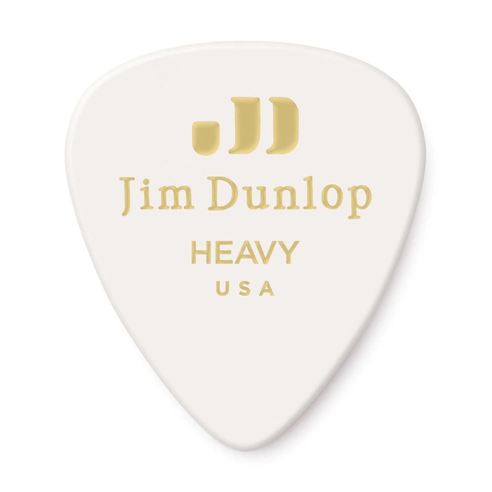 アクセサリー・パーツ, ピック JIM DUNLOP GENUINE CELLULOID CLASSICS 483 01 HEAVY 12