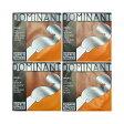 Thomastik Dominant 4/4バイオリン弦セット E線スチール・アルミ/ボールエンド