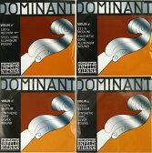 Thomastik Dominant 1/8分数バイオリン弦セット E線スチール・アルミ/ボールエンド