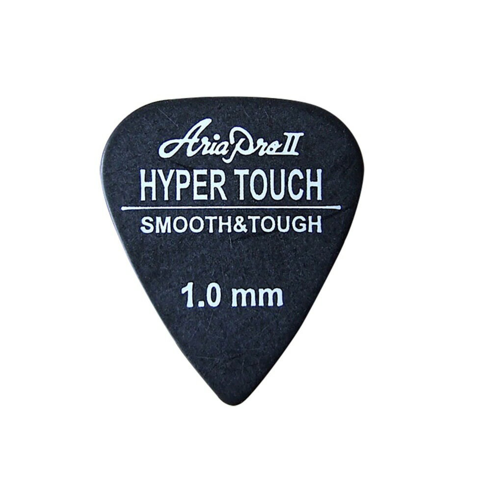 アクセサリー・パーツ, ピック AriaProII HYPER TOUCH Tear Drop 1.0mm BK50