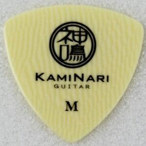KAMINARI KPTR-1M トライアングル ミディアム 0.75mm ピック×36枚 KAMINARI/神鳴 セルロース製ギターピック おにぎり型 fs04gm