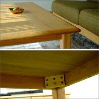【送料無料】アルダー材センターテーブル幅100cm天然木木製アルダーウッドローテーブルリビングテーブル100アジアンお洒落北欧パソコンデスク