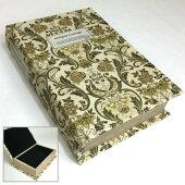 アンティークブックボックスBBOOKBOX小物入れ収納箱本型洋書型古書型シークレットボックス宝箱ジュエリーボックスアクセサリーケースギフトボックスディスプレイインテリアヨーロピアンレトロアンティーク花柄