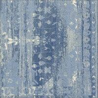 【送料無料】インド製コットンラグB130×190cmラグマット130×190絨毯ラグインドコットンデザイン柄お洒落レトロおしゃれコットンインド綿1.5畳1.5帖ヴィンテージストーンウォッシュ夏用カーペット