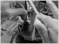 【送料無料】メンズハワイアンジュエリーハワイアンリングプラチナドシンプルストレートミルウチ地金リング彫金手彫り結婚指輪ハンドメイドpt9002mmハワイミル【_包装】【532P19Apr16】