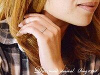 【送料無料】ダイヤモンドリングピンキーリング指輪ダイヤモンドクラシカルミルウチホワイトゴールドk18k18ダイヤレディース18k