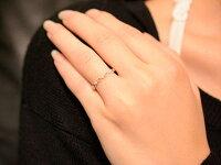【送料無料】ピンキーリング指輪ダイヤモンドハートの指輪ハートピンキーリングファランジリングミディリングホワイトゴールドk18ダイヤ