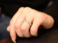 【送料無料】ペアリングマリッジリングミル打ち平ウチシルバーキュービック記念日レディースメンズ指輪婚約指輪エンゲージリング結婚指輪ブライダル【_包装】