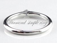 [送料無料]結婚指輪婚約指輪レディースブライダルダイヤモンドリング一粒ダイヤ0.1ctホワイトゴールドk1818kリング指輪エンゲージリング【_包装】P19Jul15