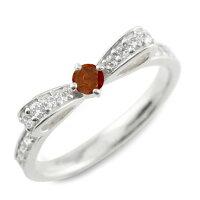 【送料無料】ガーネットピンキーリングリボンリングリボンダイヤモンドリングk1818k18金指輪ダイヤモンド誕生石ホワイトゴールドk18ダイヤ婚約指輪結婚指輪レディース【_包装】0601カード分割05P09Jul16