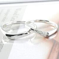【送料無料】結婚指輪プラチナマリッジリングPt900ペアリングダイヤモンドペア2本セットダイヤ0.03ctペアリングプラチナメンズレディース記念日指輪【_包装】0824カード分割ホワイトデー