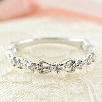 【送料無料】ダイヤモンドリング指輪k18ダイヤモンドリングピンキーリングエンゲージリング18kハートホワイトゴールド1粒一粒ダイヤ婚約指輪結婚指輪レディース【_包装】05P23Sep15