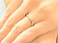 【送料無料】メンズカットリングホワイトゴールドk1818k18金地金リング甲丸リングシンプル結婚指輪ハンドメイド【_包装】0824カード分割