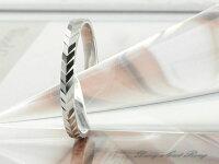 【送料無料】結婚指輪マリッジリングホワイトゴールドk18平打ちカットリング18kペア2本18金セットペアリングストレートメンズレディース記念日指輪【_包装】0824カード分割
