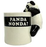 PANDA屋 パンダマグカップ 陶器製 【あす楽】