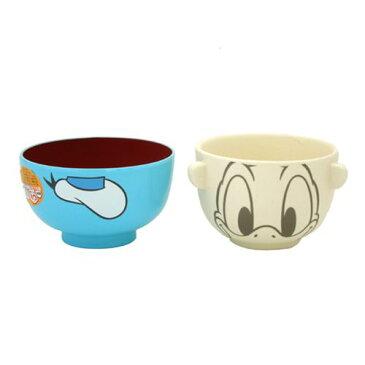 ドナルドダック ミニお茶碗&汁椀セット キャラクター食器ギフト通販 シネマコレクション