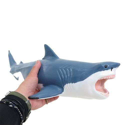 Shark Toys For Boys And Dinosaurs : 【楽天市場】メガロドン フィギュア プレヒストリックライフ ビニールモデル ソフトタイプ 恐竜 フェバリット
