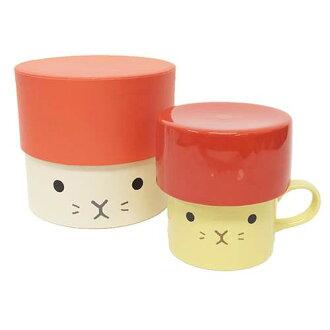 Lidded 杯兔動物集團杯禮盒愛其新的餐具動漫店電影院收藏