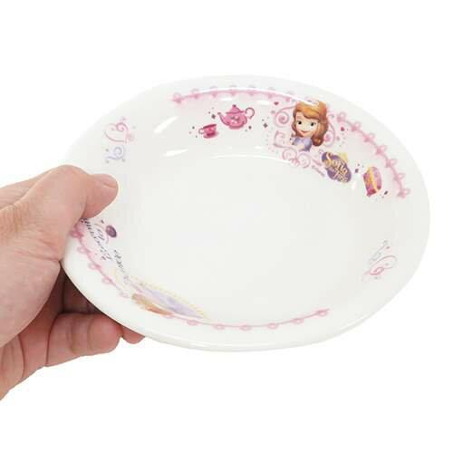ちいさなプリンセスソフィアキッズ食器こどもフルーツ皿ディズニー金正陶器直径15×4cm日本製キャラクターグッズ通販【あす楽】シネマコレクション