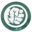 ハルク 小皿 ミニプレート マーベル サンアート 直径10.5cm アメコミ キャラクターグッズ通販 【あす楽】【MARVELCorner】