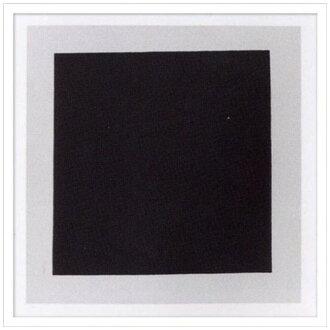 到有Kazimir Malevich室內裝飾藝術設計師藝術Black square美工公司65.5*65.5cm墻壁裝飾額頭的抽象畫郵購[索取品][郵費免費]電影收集[全物品點數5倍]1/23日朝10點