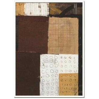 有Ralf Bohnenkamp室內裝飾藝術設計師藝術Untitled 2004美工公司73*103cm墻壁裝飾額頭的抽象畫郵購電影收集