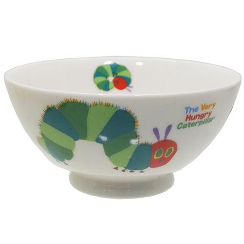 はらぺこあおむしお茶碗磁器製ライスボウルエリックカール金正陶器ギフト雑貨日本製食器絵本キャラクターグッズ通販シネマコレクション