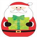 Felt Card series クリスマス カード ダイカット フェルト カード サンタクロース ...