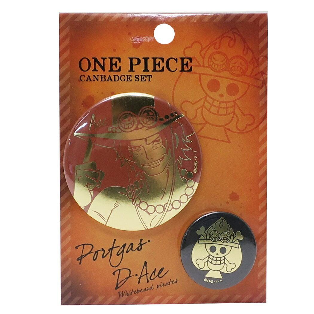 日本Yahoo代標|日本代購|日本批發-ibuy99|興趣、愛好|收藏|噠|ワンピース 缶バッジセット 箔押しカンバッジ2個セット エース ONE PIECE ジェイエム ヴ…