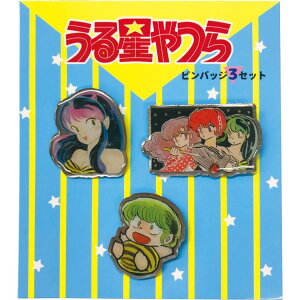 Urusei Yatsura Pin Badge Pin Badge 3 C Rumiko Takahashi In-lock Fashion Anime Character Goods Mail Available Cinema Collection
