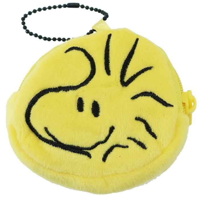 スヌーピー コインケース ぬいぐるみ 小銭入れ ウッドストック ピーナッツ ユニック ミニポーチ キャラクターグッズ メール便可 シネマコレクション