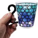 マグカップ COLORE 耐熱 ガラス マグ ブライトブルー アルタ 300ml ギフト食器 おしゃれグッズ シネマコレクション 2