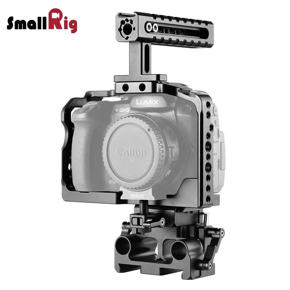カメラ・ビデオカメラ・光学機器用アクセサリー, カメラ用クランプ・グリップ 102000OFFSmallRig Panasonic Lumix GH5GH5S 2051