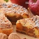 紅玉りんごパイ サンクドノア ギフト スイーツ タルト ケーキ チーズケーキ 洋菓子 食べ物 グルメ 高級 焼菓子 内祝い お返し 入学祝い 贈り物 直径16cm フルーツケーキ バースデーケーキ 父の日