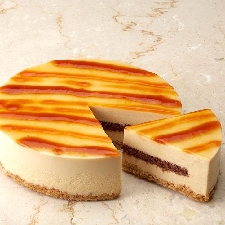 キャラメル風味のレアチーズ【送料無料】チーズケーキレアチーズケーキサンクドノアケーキ15cm誕生日ギフト洋菓子食べ物グルメ高級焼菓子内祝いお返し入学祝い贈り物バースデーケーキ